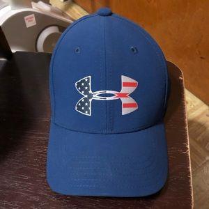 Kids UA logo fitted cap